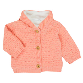 Oblečenie Dievčatá Cardigany Noukie's Z050003 Ružová