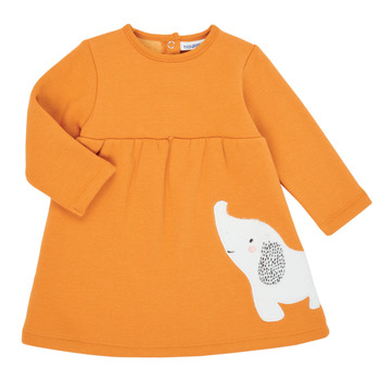 Oblečenie Dievčatá Krátke šaty Noukie's Z050083 Oranžová