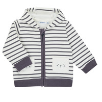 Oblečenie Chlapci Cardigany Noukie's Z050151 Biela / Modrá