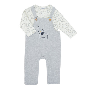 Oblečenie Chlapci Komplety a súpravy Noukie's Z050372 Šedá