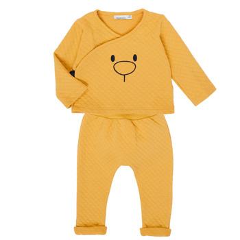 Oblečenie Dievčatá Komplety a súpravy Noukie's Z050377 Žltá