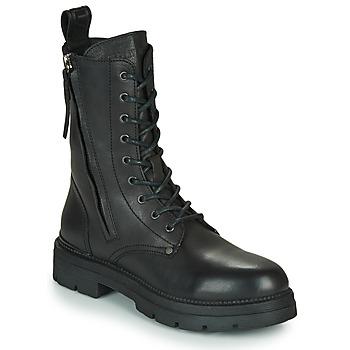 Topánky Ženy Polokozačky Replay PAMELA STANDING Čierna