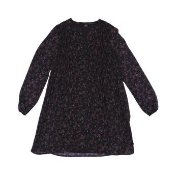 Oblečenie Dievčatá Krátke šaty Le Temps des Cerises PENNY Čierna