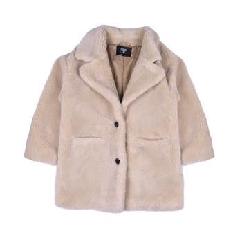 Oblečenie Dievčatá Kabáty Le Temps des Cerises IGOR Béžová