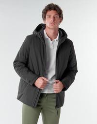 Oblečenie Muži Bundy  Geox CLINDFORD Čierna