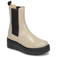 Topánky Ženy Polokozačky Vagabond Shoemakers TARA Béžová