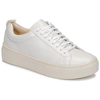 Topánky Ženy Nízke tenisky Vagabond Shoemakers ZOE PLATFORM Biela
