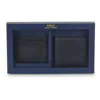 Tašky Muži Peňaženky Polo Ralph Lauren Billfold & CardCase Gift Set Čierna