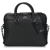 Tašky Muži Aktovky Polo Ralph Lauren COMMUTER-BUSINESS CASE-SMOOTH LEATHER Čierna