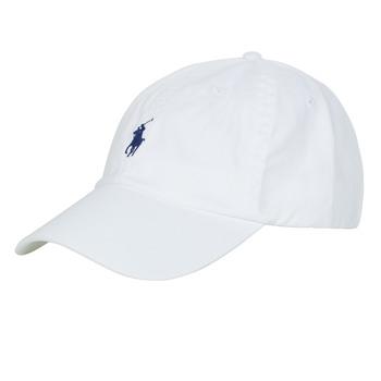 Textilné doplnky Muži Šiltovky Polo Ralph Lauren COTTON CHINO SPORT CAP Biela