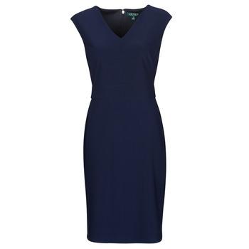 Oblečenie Ženy Krátke šaty Lauren Ralph Lauren JANNETTE Námornícka modrá