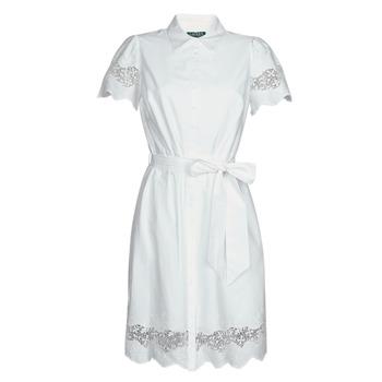 Oblečenie Ženy Krátke šaty Lauren Ralph Lauren DORTHIA Biela