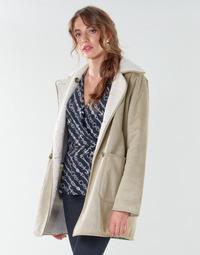 Oblečenie Ženy Kabáty Lauren Ralph Lauren RVRSBL FXSH-COAT Ťavia hnedá