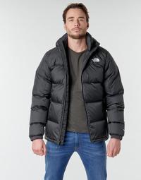 Oblečenie Muži Vyteplené bundy The North Face DIABLO DOWN HOODIE Čierna