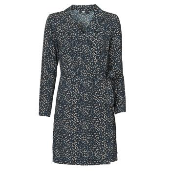 Oblečenie Ženy Krátke šaty Le Temps des Cerises LEANE Modrá