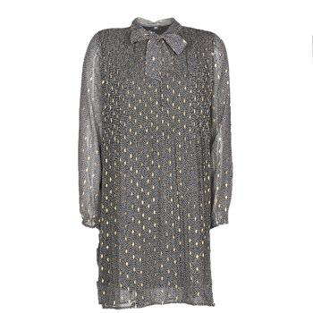 Oblečenie Ženy Krátke šaty Le Temps des Cerises CHANI Šedá