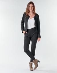 Oblečenie Ženy Nohavice päťvreckové Le Temps des Cerises BIEBER Čierna