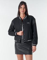 Oblečenie Ženy Bundy  Volcom TINYTED BOMBER Čierna