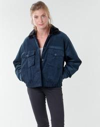 Oblečenie Ženy Bundy  Volcom ARMY CORD JACKET Modrá