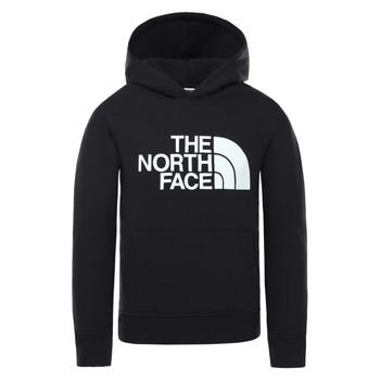 Oblečenie Deti Mikiny The North Face DREW PEAK HOODIE Čierna