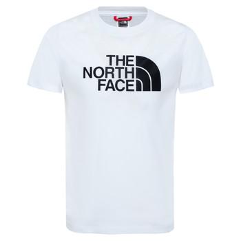 Oblečenie Chlapci Tričká s krátkym rukávom The North Face EASY TEE Biela
