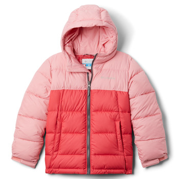 Oblečenie Dievčatá Vyteplené bundy Columbia PIKE LAKE JACKET Ružová