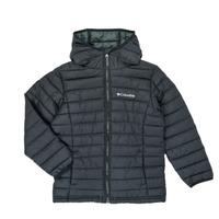 Oblečenie Chlapci Vyteplené bundy Columbia POWDER LITE HOODED JACKET Čierna