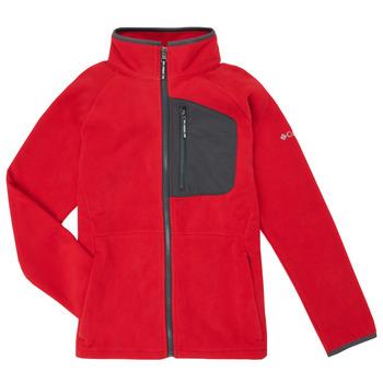 Oblečenie Chlapci Flísové mikiny Columbia FAST TREK Červená