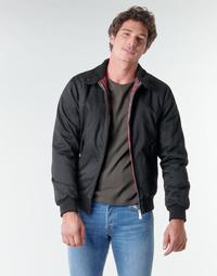 Oblečenie Muži Bundy  Harrington SINATRA Čierna