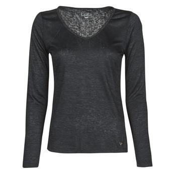 Oblečenie Ženy Tričká s dlhým rukávom Les Petites Bombes ADRIANA Čierna