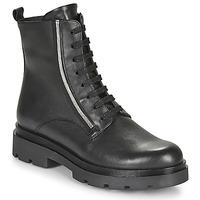 Topánky Ženy Polokozačky Tosca Blu SF2024S470-C99 Čierna