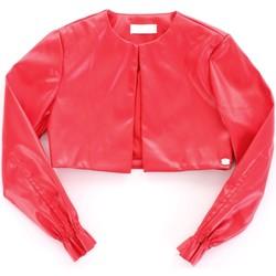 Oblečenie Dievčatá Kožené bundy a syntetické bundy Byblos Blu BJ14994 Rosso