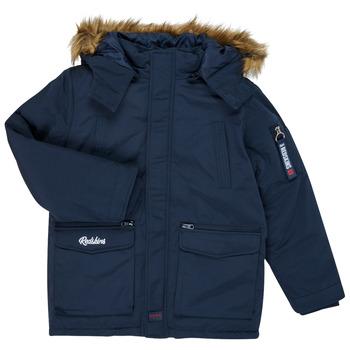 Oblečenie Chlapci Parky Redskins REF-48105 Námornícka modrá