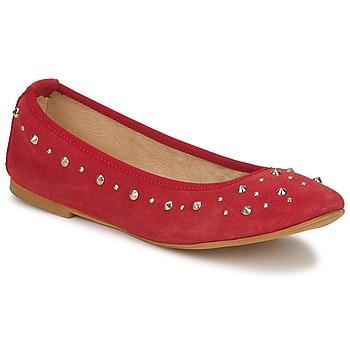 Topánky Ženy Balerínky a babies Meline LUSON červená
