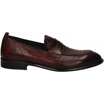 Topánky Muži Mokasíny Exton SOFT vinaccio