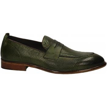 Topánky Muži Mokasíny Exton SOFT verde