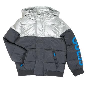 Oblečenie Chlapci Vyteplené bundy Guess N0YL00-W7S10-PHTM Šedá