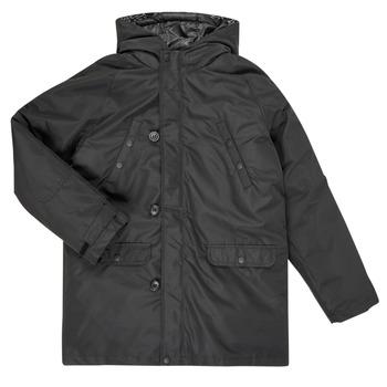 Oblečenie Chlapci Vyteplené bundy Guess L0BL08-WDEH0-JBLK Čierna
