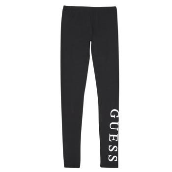 Oblečenie Dievčatá Legíny Guess J94B16-K82K0-JBLK Čierna