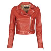 Oblečenie Ženy Kožené bundy a syntetické bundy Oakwood KYOTO Červená