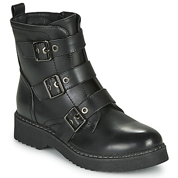 Topánky Ženy Polokozačky Spot on F51069 Čierna