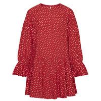 Oblečenie Dievčatá Krátke šaty Pepe jeans CATY Červená