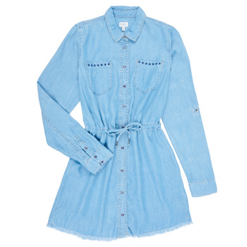 Oblečenie Dievčatá Krátke šaty Pepe jeans ZOEY Modrá