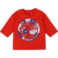 Oblečenie Chlapci Tričká s dlhým rukávom Timberland T95889 Červená