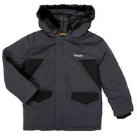Oblečenie Chlapci Parky Timberland T26525 Šedá