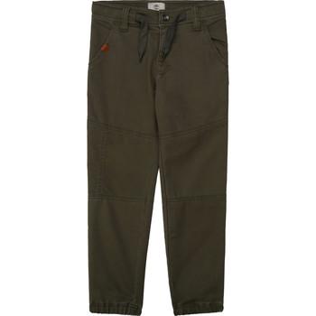 Oblečenie Chlapci Nohavice päťvreckové Timberland T24B11 Kaki