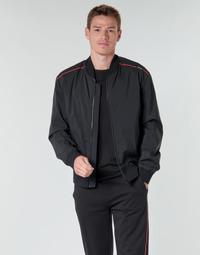 Oblečenie Muži Bundy  HUGO BRUCE2031 Čierna