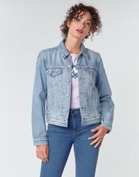 Oblečenie Ženy Džínsové bundy Levi's ORIGINAL TRUCKER All