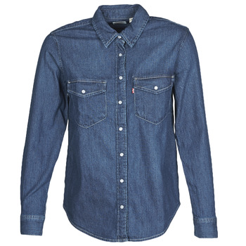 Oblečenie Ženy Košele a blúzky Levi's ESSENTIAL WESTERN Modrá