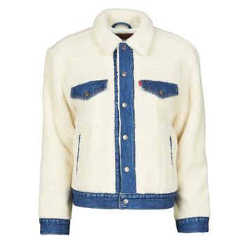 Oblečenie Ženy Džínsové bundy Levi's EX BF PIECED TRCKR Sheep